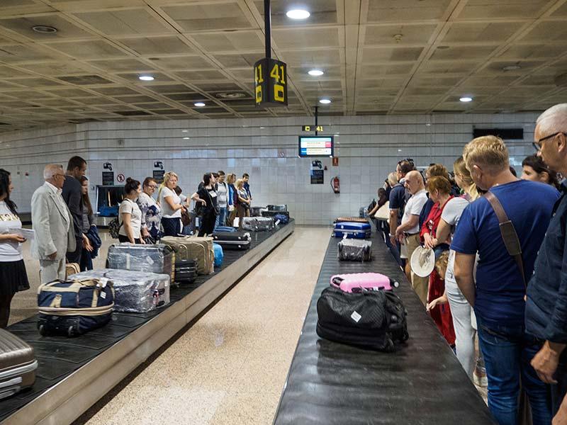 4. Выдача багажа в Barcelona-El Prat